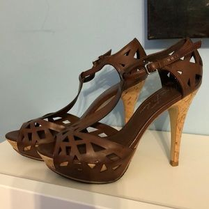 Marc Fisher sandals worn once